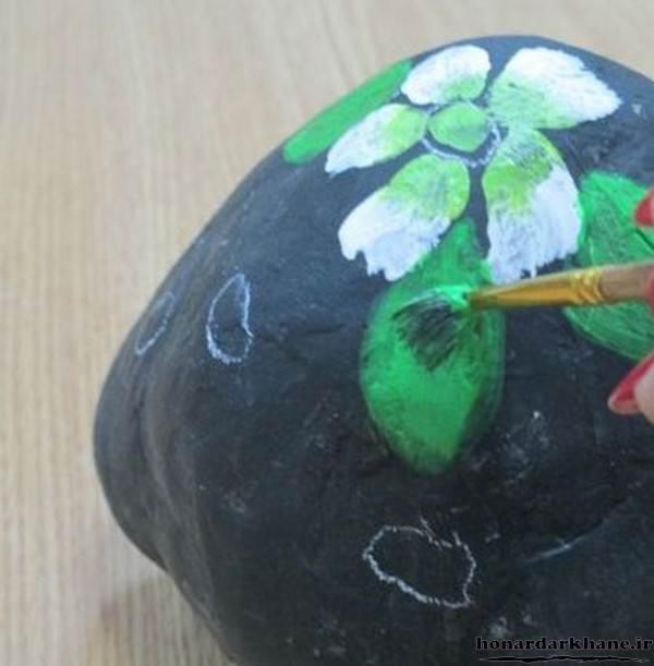 عکس نقاشی روی سنگ