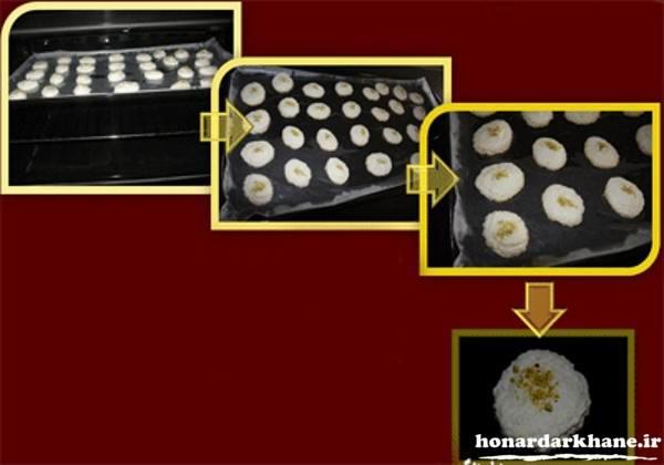 آموزش شیرینی نارگیلی