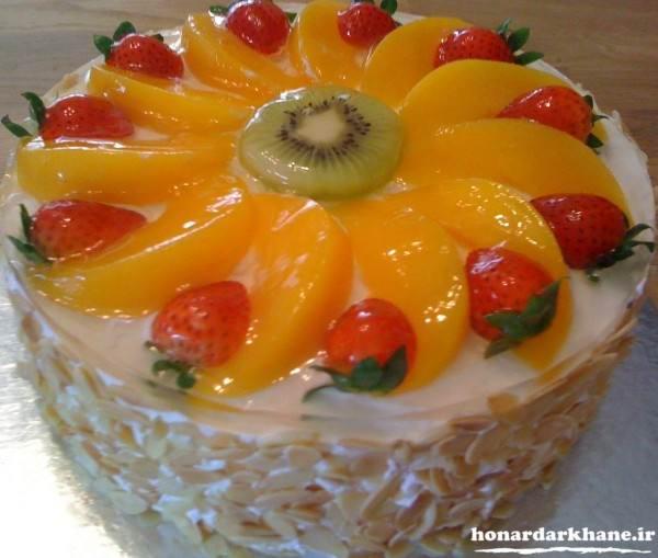 تزیین کیک جشن تولد جدید