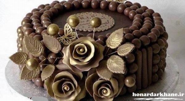 مدل تزیین کیک جدید