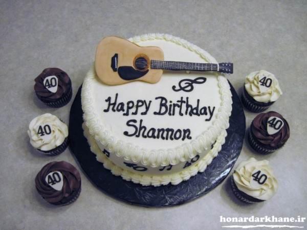 تزیین کیک جشن تولد