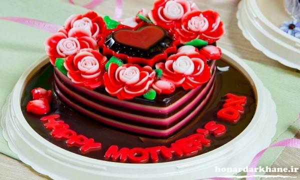تزیین کیک جدید