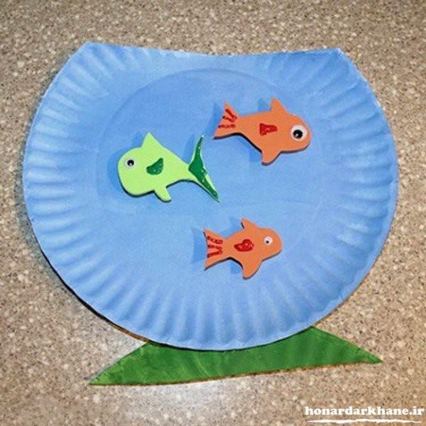 کاردستی تنگ ماهی