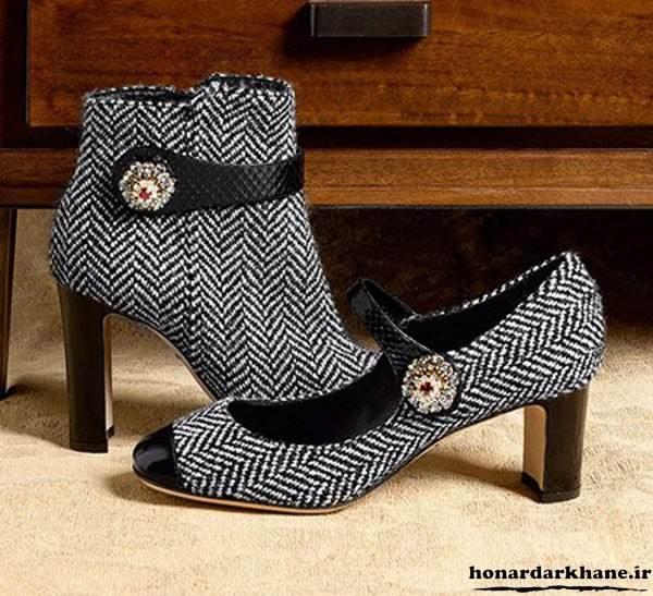 مدل جدید کفش پاشنه دار