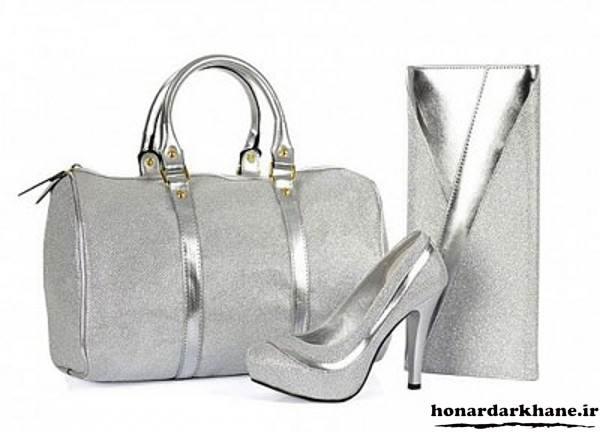 مدل کیف و کفش ست عروس