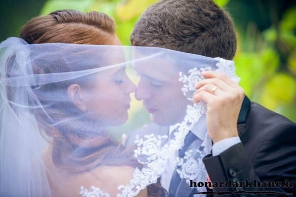 جدیدترین زست عکس عروس و داماد