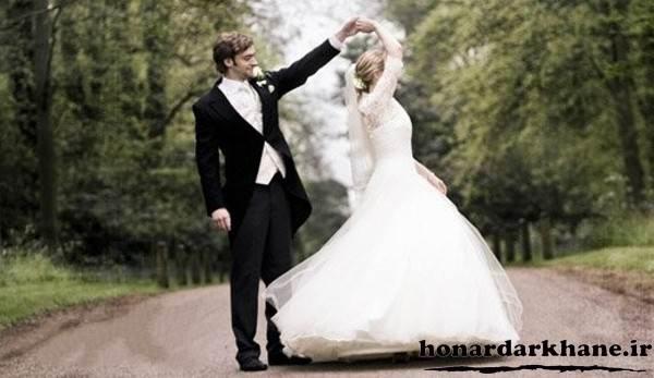 پوزیشن عکس عروس و داماد