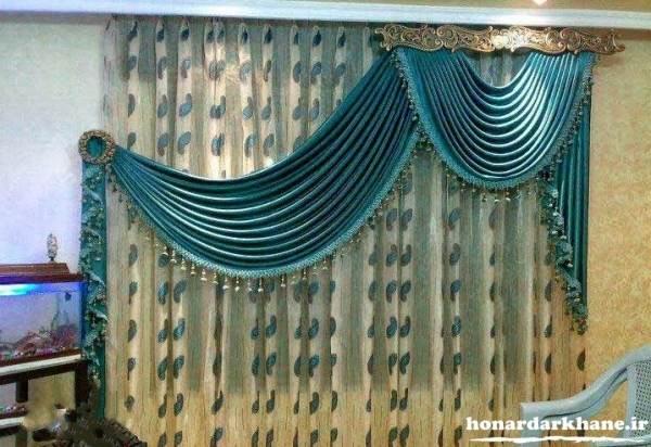 پرده اتاق پذیرایی عروس