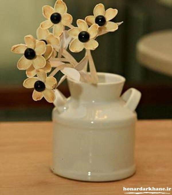 ساخت گل های تزیینی در منزل
