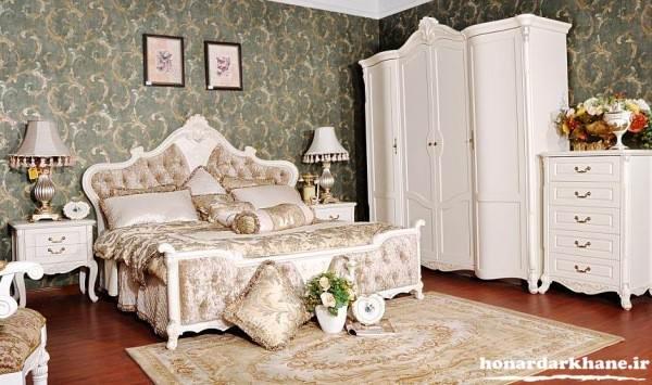 تزیین اتاق خواب رمانتیک