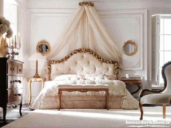 تزیین زیبای اتاق عروس و داماد