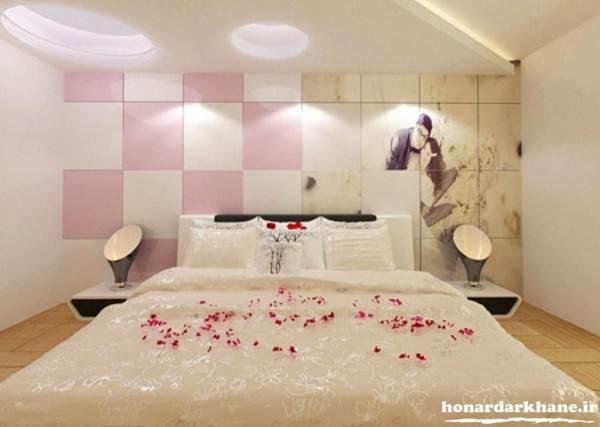 تزیینات اتاق خواب عروس