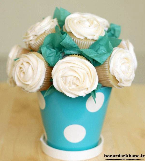 تزیین جذاب کاپ کیک