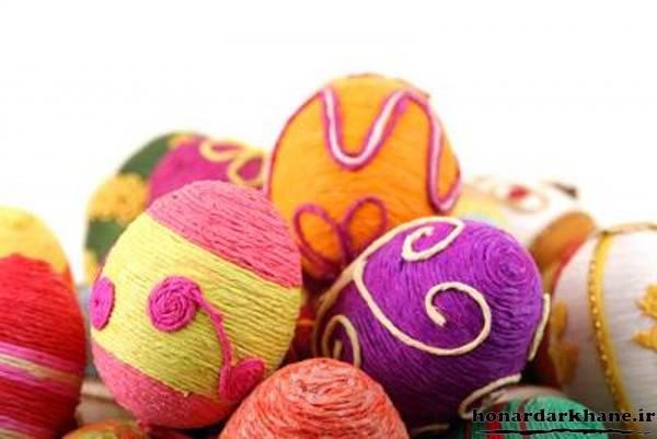 مدل تخم مرغ رنگی هفت سین