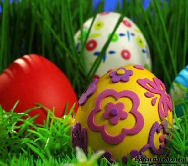 تخم مرغ برای هفت سین