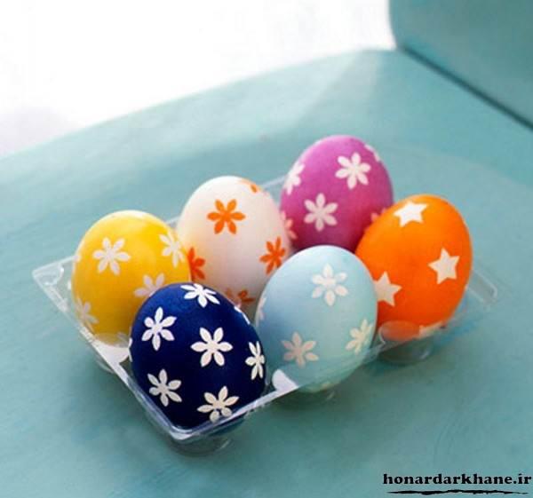 تزیین زیبای تخم مرغ