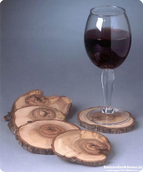 ساخت زیر لیوانی با چوب