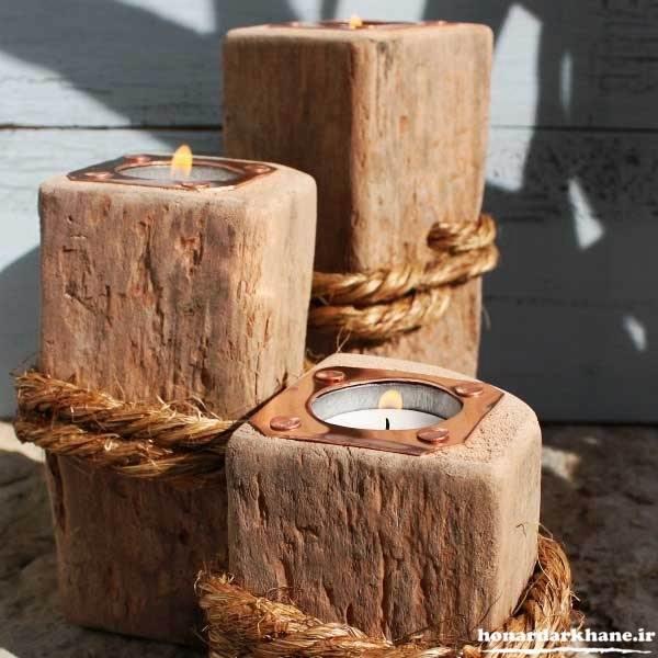 جاشمعی های چوبی جدید