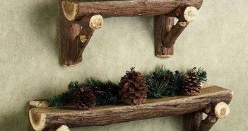 خلاقیت با چوب درخت