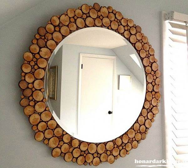 خلاقیت با چوب
