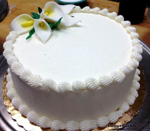 تزیینات جدید کیک با خامه