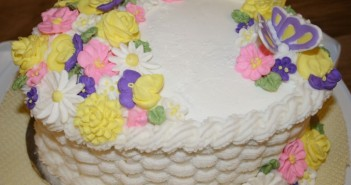 طرز تهیه خامه کیک قنادی