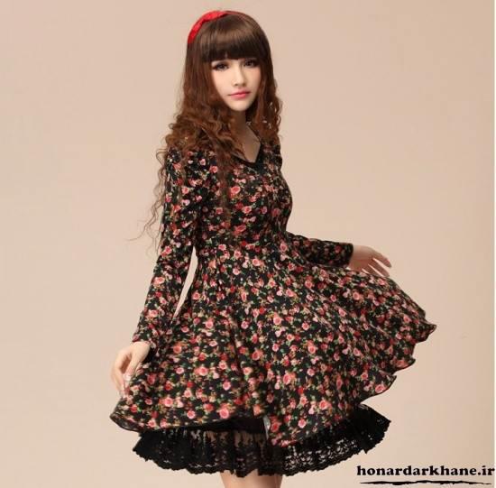 مدل جدید لباس دخترانه کره ای
