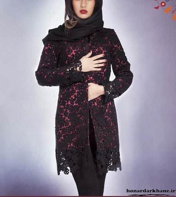 مدل پیراهن جاله گل داررن مدل پیراهن مجلسی زنانه ۲۰۱۸.