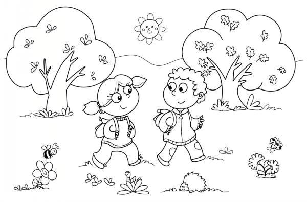 نقاشی برای کودکان و مدل رنگ آمیزی کودکان جدید و زیبا