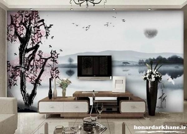 تزیین زیبای دیوارهای منزل