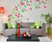 تزیین دیوار با وسایل ساده با ایده های خلاقانه و جدید