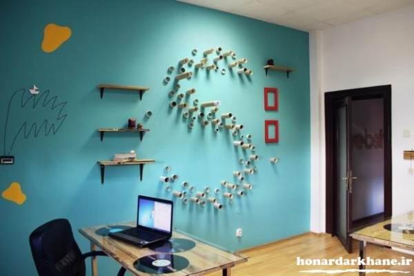 تزیین دیوارهای منزل