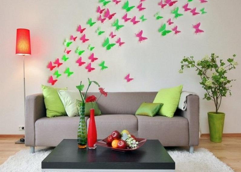 تزیین مانتو ساده تزیین دیوار با وسایل ساده با ایده های خلاقانه و جدید