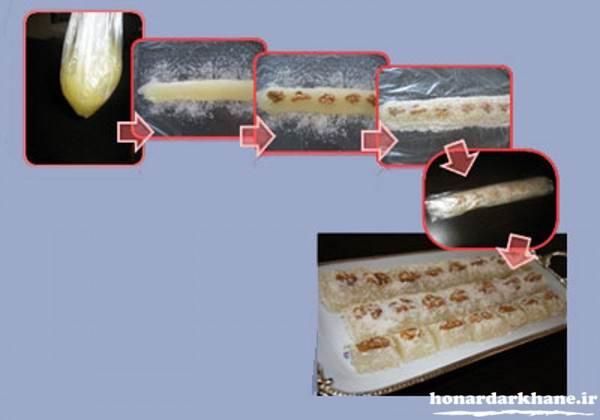 طرز تهیه شیرینی مسقطی