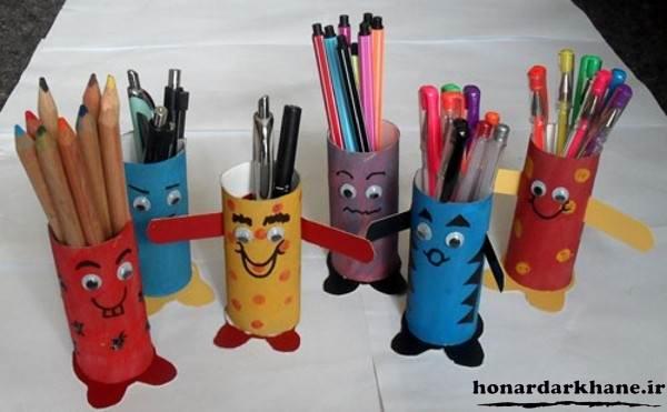 کاردستی خلاقانه کودکانه