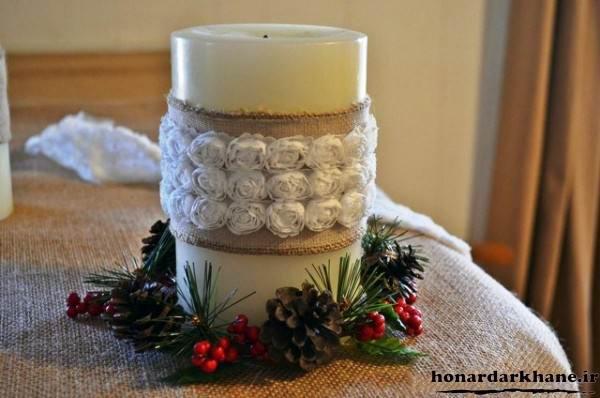 تزیین جدید شمع