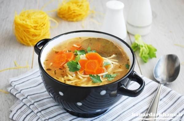 تزیینات سوپ