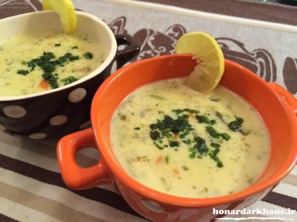تزیین جدید ظرف سوپ