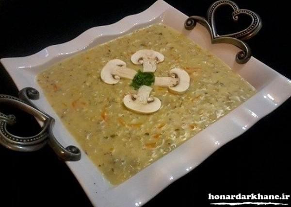 تزیینات جدید سوپ