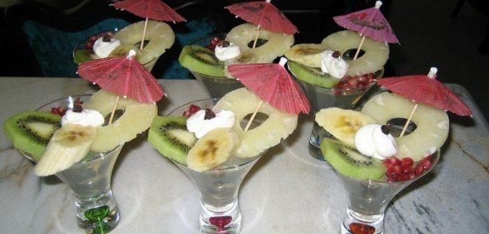 تزیین ژله با میوه با ایده های خلاقانه و جدید برای مهمانی