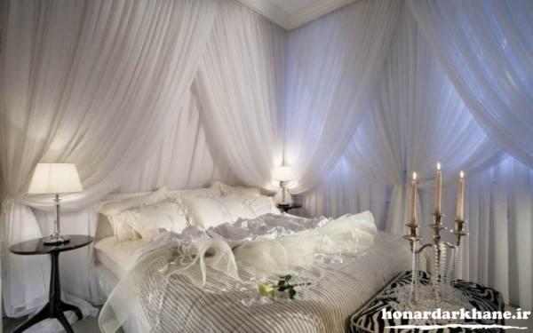 تزیین جدید اتاق خواب عروس