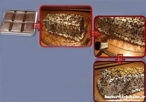 کیک بستین ساده با خامه