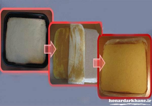طرز تهیه نان رولتی