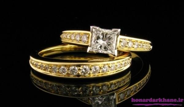 حلقه ازدواج جدید و شیک