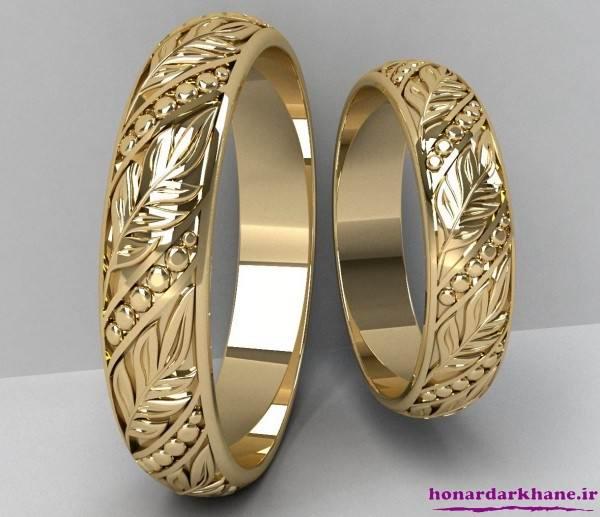 حلقه عروسی جدید و زیبا
