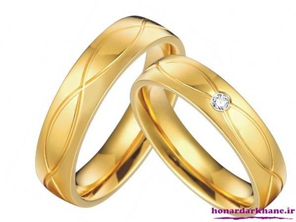 مدل حلقه نامزدی و ازدواج