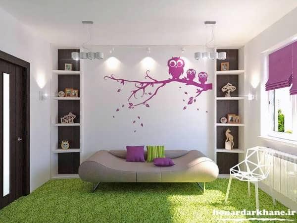 تزیین دیوار های منزل
