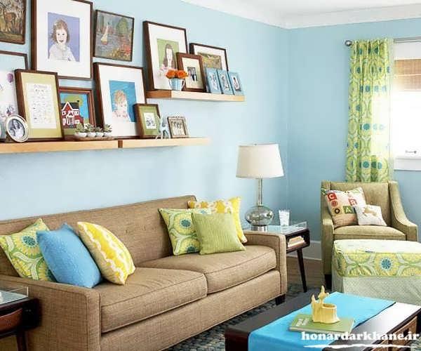 تزیین منزل با وسایل بازیافتی