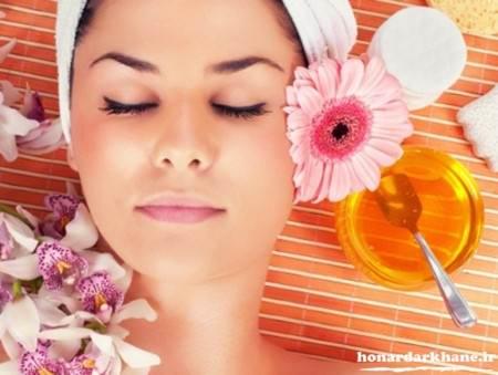 ماسک عسل روشن کننده پوست