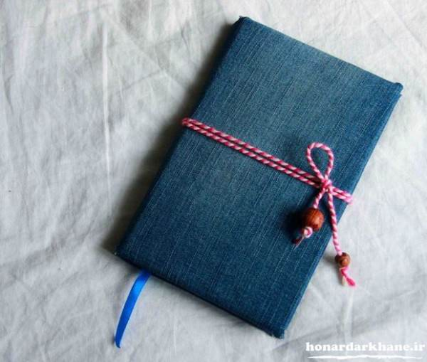 ساخت دفترچه یادداشت با پارچه